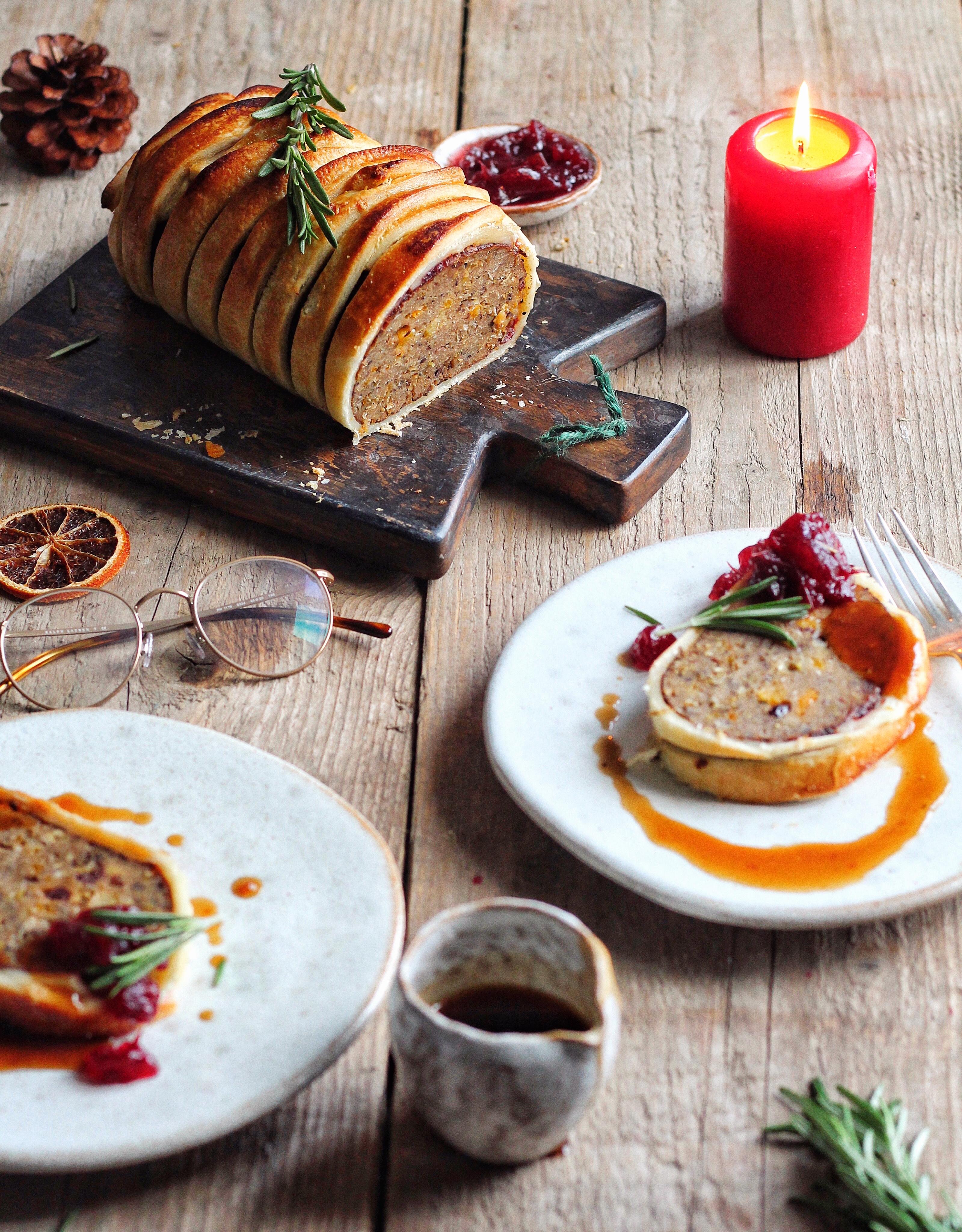 Christmas Roast.Ultimate Vegan Christmas Roast Wellington Avant Garde Vegan